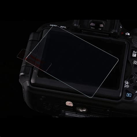 clear tempered glass lcd screen protector guard for canon 7d2 f5 ebay