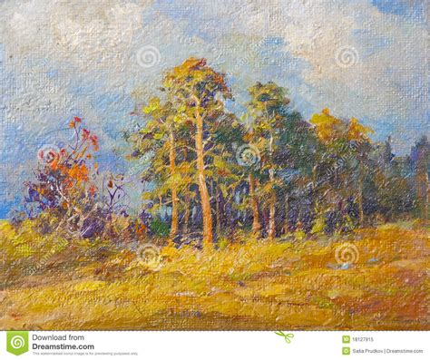 painting for free landscape painting royalty free stock photo image
