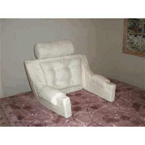 bed chair pillow bed chair deluxe comfort backrest the boyfriend pillow