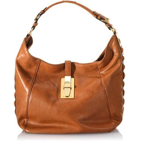 New Fendi Calista 3in1 Leather michael michael kors calista derby large shoulder bag
