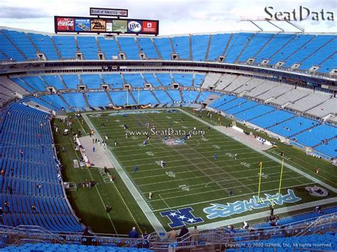 which of these happens in section xix bank of america stadium section 532 rateyourseats com
