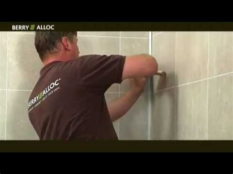 berryalloc installation vid 233 o wall water