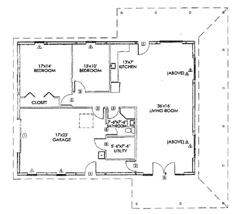 morton building floor plans pole buildings homes studio design gallery best design