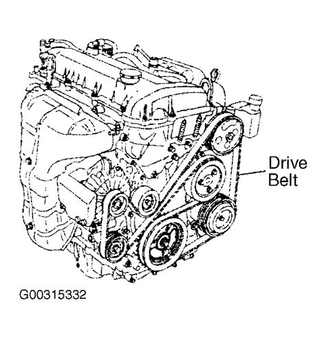2003 mazda 6 timing belt 2004 mazda 6 serpentine belt routing and timing belt diagrams