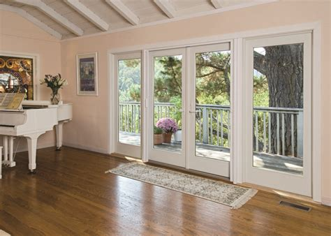 Drafty Patio Door Renewal By Andersen Provide Continuous Weatherstripping And Interlocking Design Features That