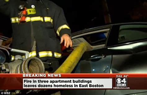 Paking Fullset I One Smash boston firefighters smash through bmw parked in front of