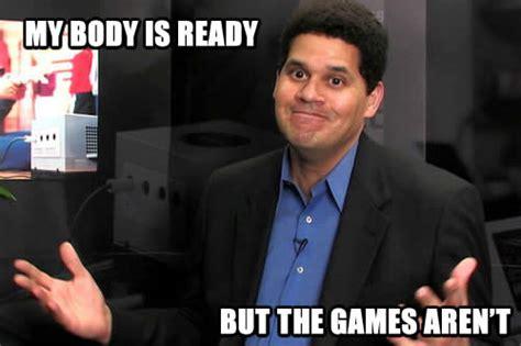 Reginald Meme - lack of wii u games due to nintendo s values