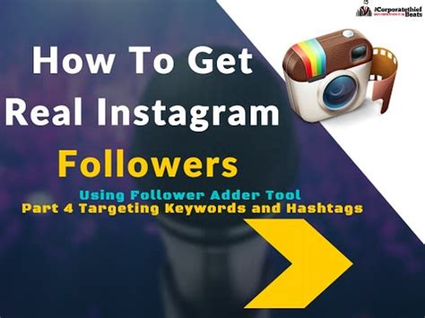 tutorial instagram followers how to find more instagram followers follower adder