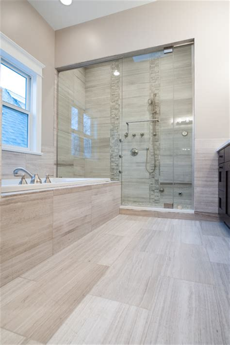 honed marble bathroom white oak honed marble bathroom contemporary bathroom