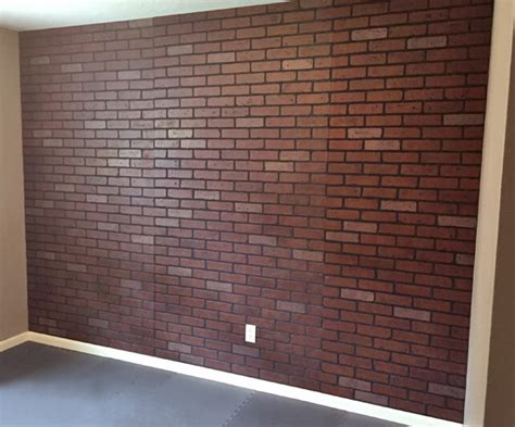 faux painted brick wall how to paint a faux brick wall
