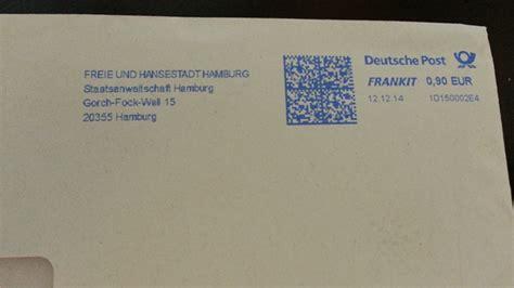 Brief Schweiz Richtig Adressieren Ermittlungspanne Ii Vergessene Briefmarke Gef 228 Hrdet Jahrelange Ermittlungen Just Partner