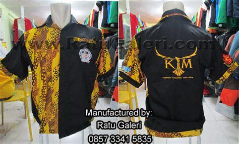 design baju honda seragam batik kim ubayakonveksi surabaya kaos seragam