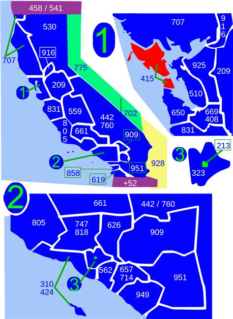 415 Area Code Lookup Area Codes 415 And 628