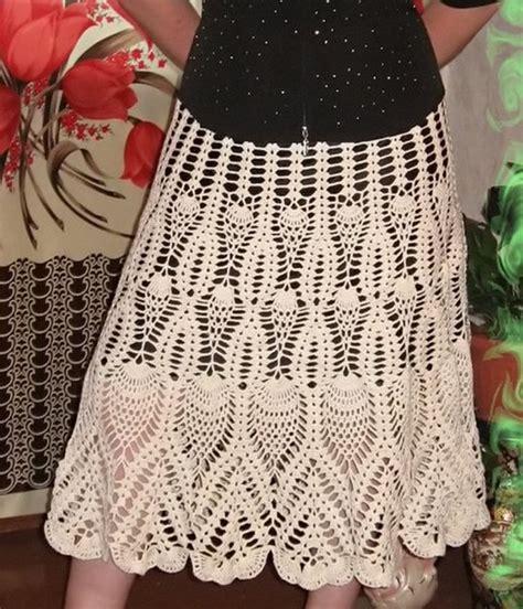 falda recta a crochet paso a paso faldas para tejer a crochet varios modelos con patrones