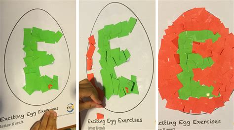 letter e crafts for letter e crafts exciting egg exercises kidz activities