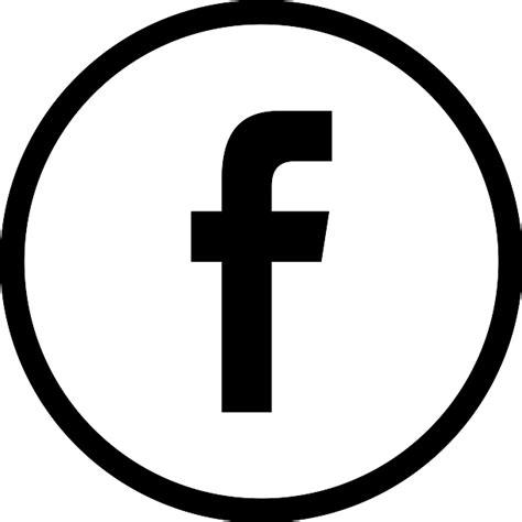 imagenes con simbolos face facebook logo en bot 243 n circular esbozado de social s 237 mbolo