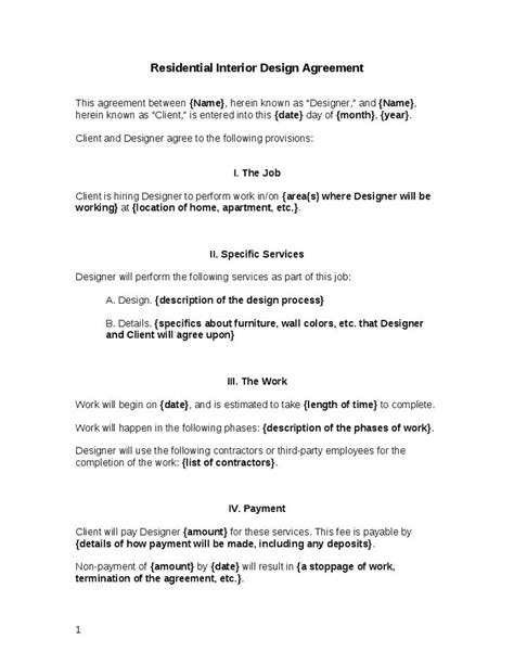 25 Best Contract Agreement Ideas On Pinterest Cleaning Contracts Janitorial Cleaning Interior Design Contract Template