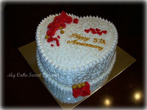 Decorating My First Home by Quot My Cake Sweet Dreams Quot Anniversary Cake
