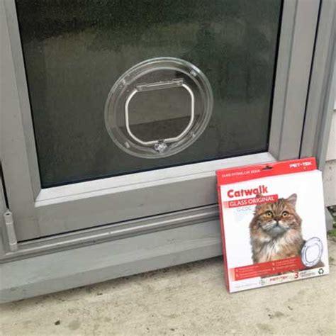 Cat Glass Door Catwalk Standard Cat Door For Glass Cat Door Company