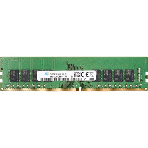 Memory 4gb Ddr4 hp 4gb 2133 mhz ddr4 memory module smart buy t7b76ut b h