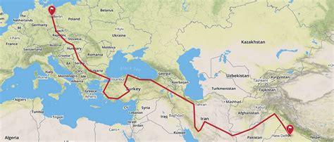 Motorrad Von Deutschland Nach Frankreich Ummelden by Per Anhalter Nach Indien Eine Reise Durch Eurasien