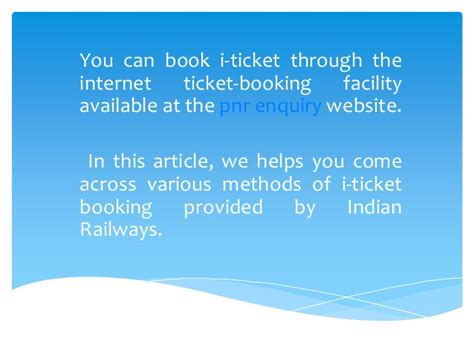 ticket booking indian railways ticket booking