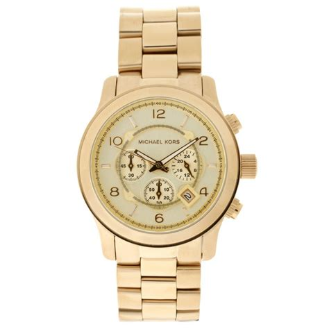 michael kors chronograph gold  mk cheapest