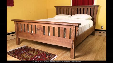plans for a bed frame woodworking plans king bed frame
