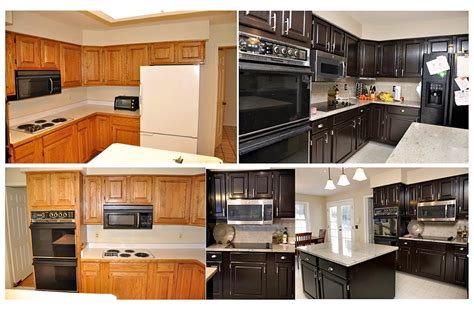 java stain kitchen cabinets java gel stain kitchen makeover general finishes design