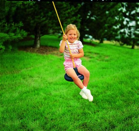 new little tikes disc swing for tree pole swing set free