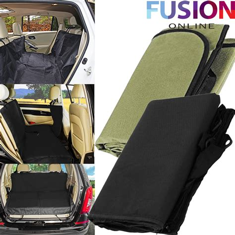 seat cover for dogs new car rear back seat cover pet cat protector hammock safety mat waterproof ebay