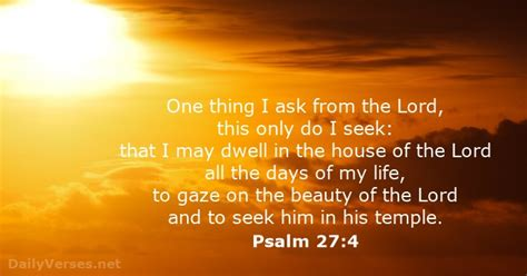 psalm 27 4 bible verse of the day dailyverses net
