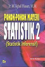 Pengarang Statistik Pendidikan toko buku rahma pokok pokok materi statistik 2 statistik