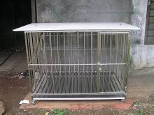 Kandang Anjing Besar 150x100x100 jual kandang anjing bisa pesan ukuran