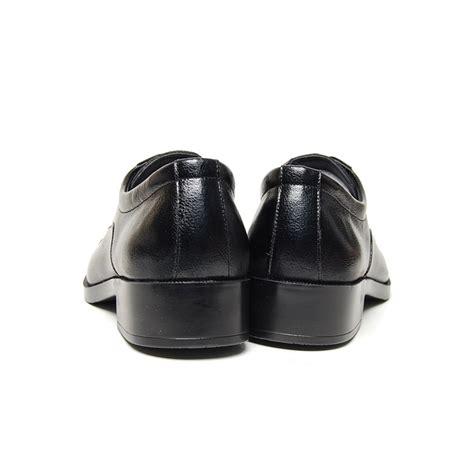 s black leather square cap toe lace up oxfords shoes