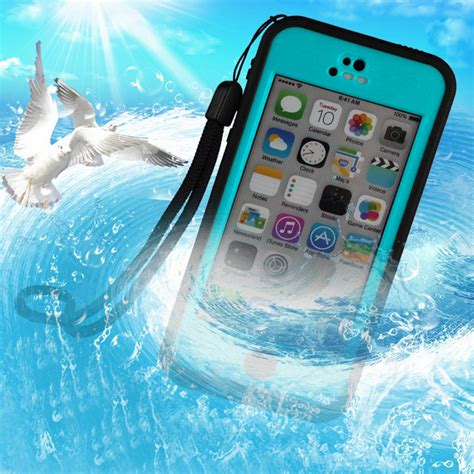 Hardcase Waterproof Bumper Redpepper Underwater Iphone 6s Plus 100 authentic redpepper water proof apple iphone 5c 6 plus f in water ebay