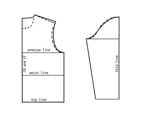 pattern drafting adding ease drafting the easy fitting overgarment block learning