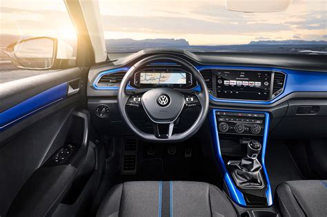 volkswagen inside vw t roc revealed news photos specs prices by car magazine
