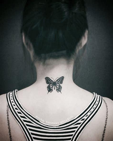 butterfly tattoo nape 98 beautiful butterfly tattoos tattoomagz