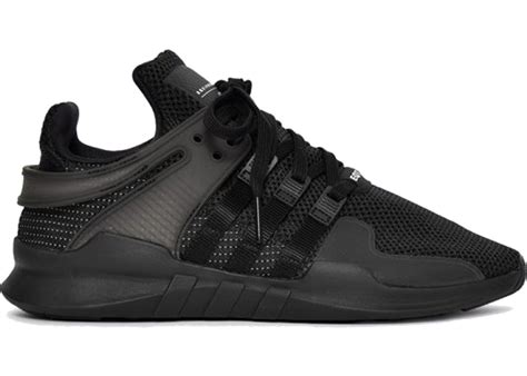 adidas eqt black adidas eqt support adv triple black