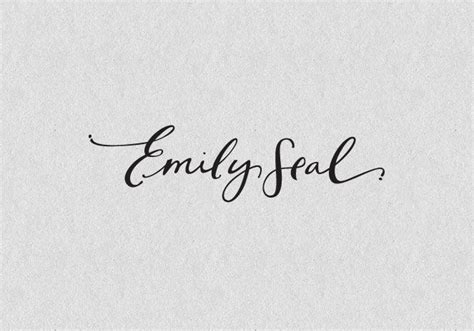tattoo font emily tattoo calligraphy type typography pinterest