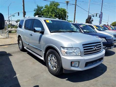how cars run 2006 infiniti qx parental controls 2006 infiniti qx56 4dr suv in stockton ca california motors