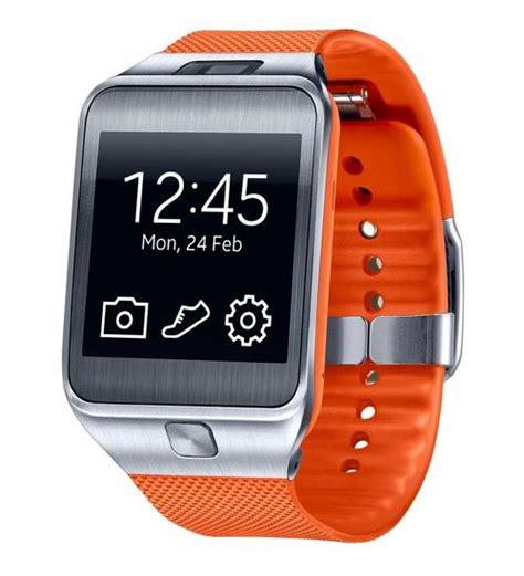 samsung galaxy gear android smart buy samsung galaxy gear 2 sm r380 smart orange android 1 63 quot at computers