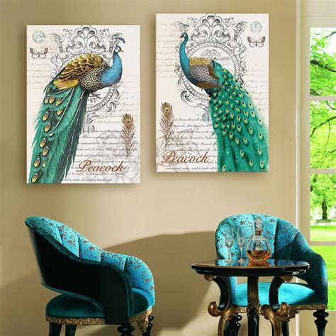 Home Decor Peacock Get Cheap Peacock Decor Aliexpress Alibaba