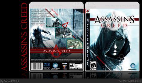 amazoncom assassins creed playstation 3 artist not assassin s creed playstation 3 box art cover by zxero