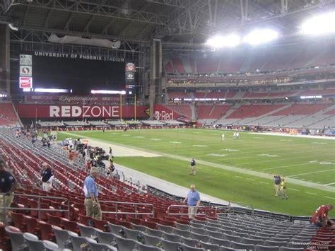 phoenix arizona section 8 university of phoenix stadium section 124 arizona