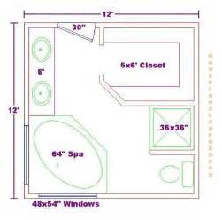 Bathroom Floor Plans by Master Bathroom Floor Plans Master Bathroom Design