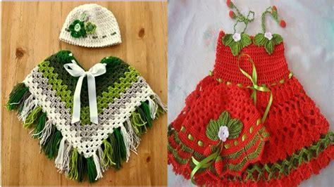 poncho para ni a en crochet y agujas circulares tricot ponchos y vestidos tejidos a crochet para ni 209 as 2015 youtube