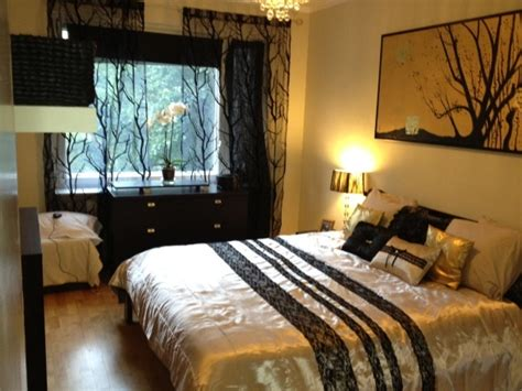 bedroom ideas gold black and gold bedroom ideas home delightful