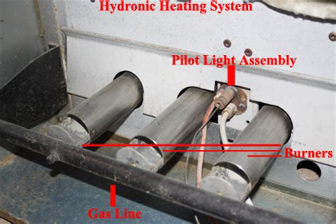turn on boiler pilot light hydronic heating system polit light not lighting